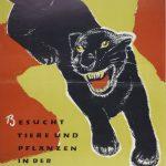 Panther 1953 (Plakat für Stuttgarter Wilhelma)