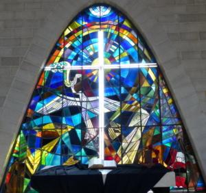 Christuskirche Rösrath-Forsbach Parabelfenster